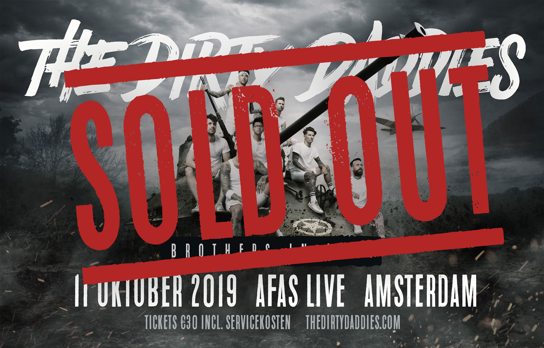 The Dirty Daddies 11 oktober 2019 terug in de AFAS Live!