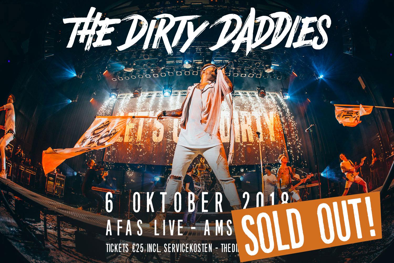 The Dirty Daddies 6 oktober in de AFAS Live!