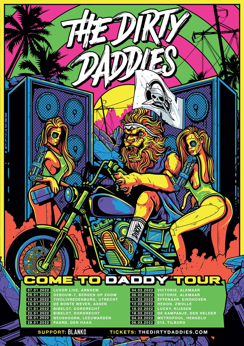 Poster Come To Daddy Tour