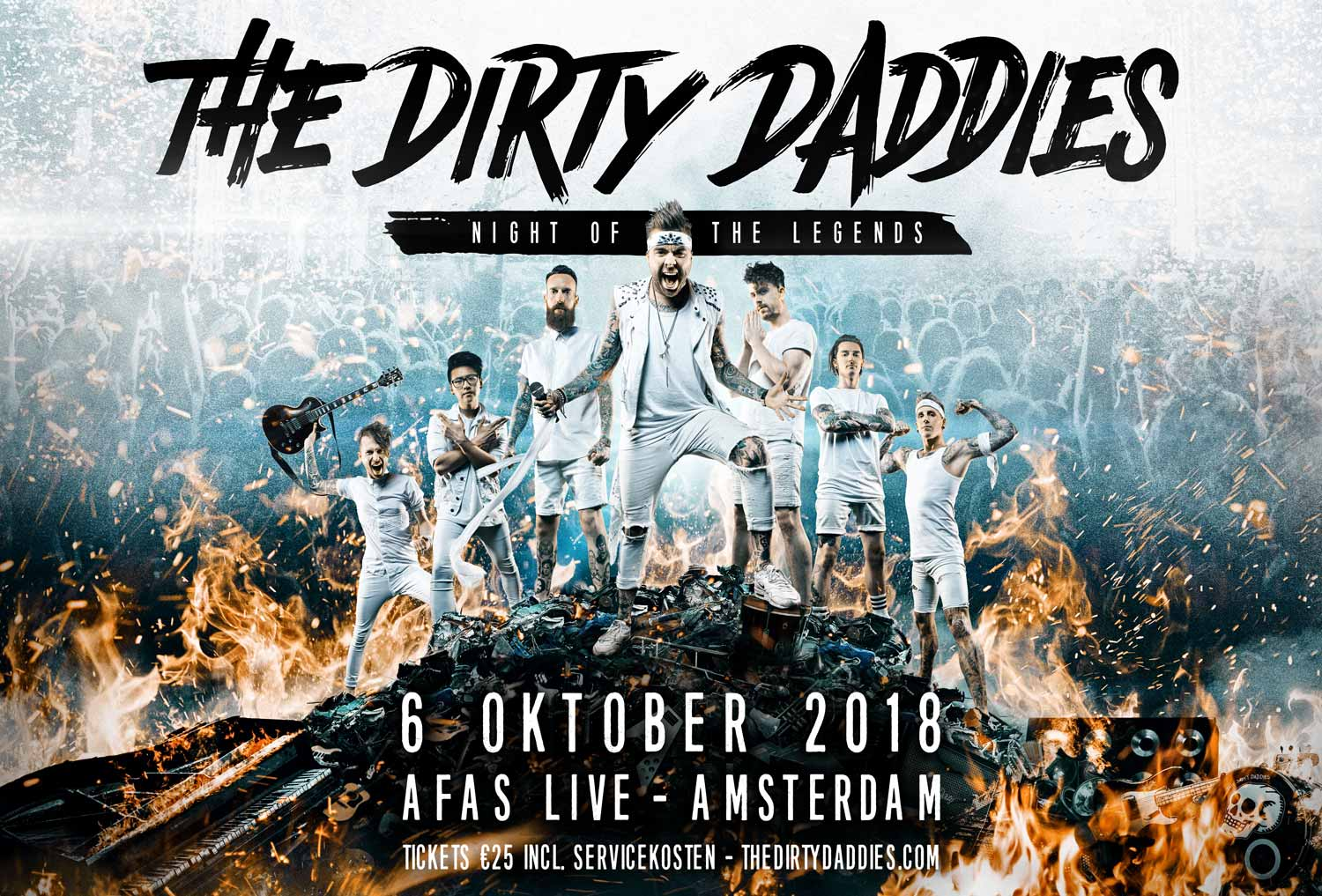 The Dirty Daddies 6 oktober in de AFAS Live!